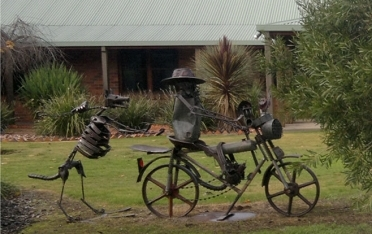 Farm Sculpture